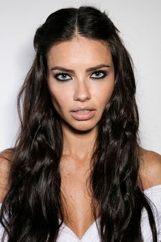 theuniqueadrianalima: Adriana Lima at the backstage of the Versace show during Milan Fashion Week Fall/Winter 2016/17 on February 26, 2016 in Milan, Italy.