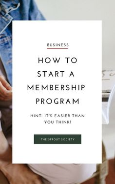 Start your membership business in 4 simple steps! Business Planning, Business Tips, Online Business, Business Coaching, Business Goals, Sales Strategy, Digital Marketing Strategy, Business Entrepreneur, Business Marketing