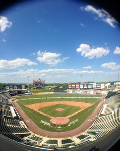 Coca-Cola Park, Allentown, PA. Home of the Lehigh Valley Iron Pigs. AAA affiliate of the Philadelphia Phillies.