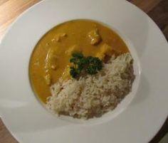 Fruchtig-mildes Hähnchen-Curry (am besten mit Reis)
