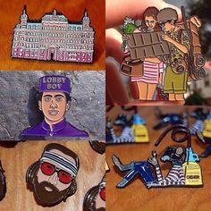 #Repost @pin_house  If you happen to find yourself in New York City before November 13th make sure you stop in to @spoke_art for their 7th annual Wes Anderson art show! All 5 of our Wes Anderson themed pins will be on sale there including The Grand Budapest Hotel Moonrise Kingdom The Lobby Boy The Rotter and Richie Tenenbaum! | You can also scoop these pins from our online shop | http://ift.tt/2alUOCs | Link to our shop is in our bio  |  #pinhouse #pins #hatpins #hatpinsforsale #art #artist…