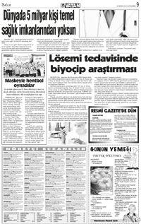 Önce Vatan Gazetesi Sayfaları