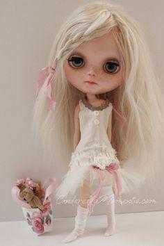 Finlee Custom Blythe Doll by cinderellamoments on Etsy