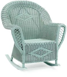 Heirloom Wicker Rocking Chair $606