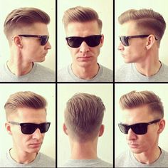 tapered back hair?