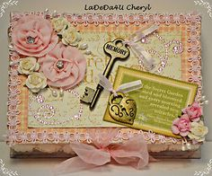 Have one to sell? Sell it yourself   LaDeDa4U CHERYL GRAPHIC 45 SECRET GARDEN ALTERED JEWELRY BOX HANDMADE