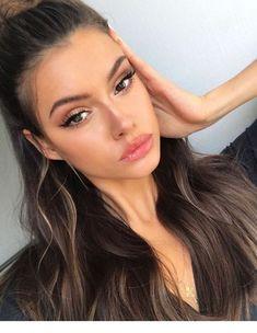 natural, everyday makeup - Beauty Make-Up Daily Makeup, Makeup Goals, Everyday Makeup, Makeup Inspo, Makeup Inspiration, Makeup Ideas, Makeup Tips, Make Up Everyday, Makeup Designs