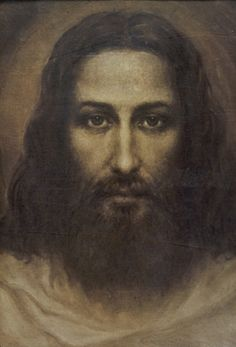 The Face of Christ, 1935, by Ariel Agemian (Knight of St. Gregory) 1904-1963. Born in Brussa, Turkey, as a child he witnessed the massacre of Armenians and the death of his father. He was taken by monks to Rome and on to Venice where he lived until he was 18. This highly acclaimed artist eventually immigrated to the USA. His paintings can be found in Armenian and Eastern Rite Catholic Churches in France, Italy, Turkey, and USA.