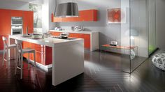 Decorating Kitchen Designs With Colorful Enticing Decor Bring Out It ...