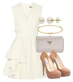 Sin título #13439 by vany-alvarado on Polyvore featuring polyvore fashion style Alexander McQueen Prada Tiffany & Co. Lord & Taylor clothing