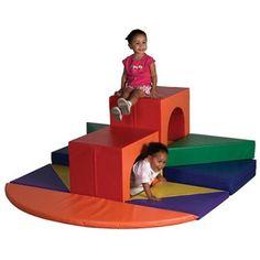 Noahs Park and Playgrounds - High Rise Climber Softzone™, $559.00 (http://www.noahsplay.com/playground-equipment-needs/child-care/high-rise-climber-softzone/)