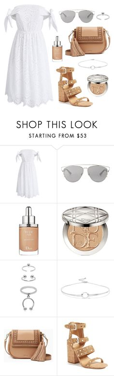 """Fresh As A Daisy"" by tasha-m-e ❤ liked on Polyvore featuring Chicwish, Christian Dior, Maria Francesca Pepe, Noir Jewelry, Kate Spade and Dolce Vita"