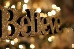 Christmas miracles happen to those who believe! :)