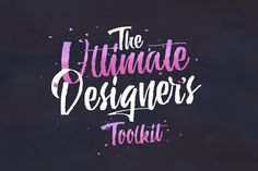 The Ultimate Designer's Toolkit: 29 Fonts and 1132 Graphics – 99% Off