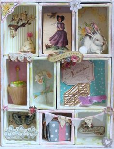 Love Shadow Boxes - Must make one!