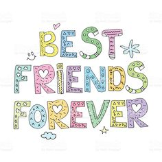 friendss word clipart - Google Search