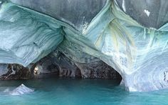 Resting Water in the Marble Caves