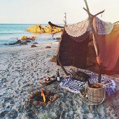 Great beach setup.