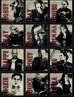 Sons of Anarchy Juice rare | Calendrier 2015 SONS OF ANARCHY - Redwood - Calendriers - Rock A Gogo
