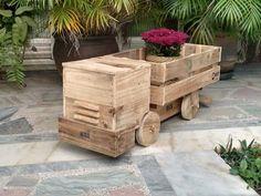 Handmade Pallet Truck Toy - 150+ Wonderful Pallet Furniture Ideas | 101 Pallet Ideas - Part 14