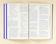book design, for the Royal Academy of Art, Study Guide 2013-2014