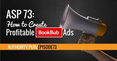"""When it comes to promoting your book, BookBub.com is the Holy Grail."" – Steve Scott Steve and Barrie talk about BookBub, the massive platform that self-published authors can use to promote books. Steve shares his passion for BookBub and how he uses the platform to sell more books, get more exposure and increase his affiliate …"