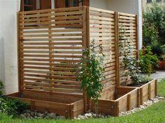 horizontal fence divider