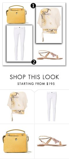 """""""Outfit # 4804"""" by miriam83 ❤ liked on Polyvore featuring Tsumori Chisato, rag & bone, Fendi and Stuart Weitzman"""