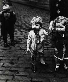 """Bill Brandt, """"Childen in Sheffield."""""""
