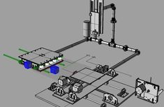 How to make your own 2D CNC machine that converts into a 3D Printer and back to a CNC machine in less than an hour.