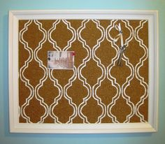 Can You Paint A Cork Bulletin Board With Latex Paint