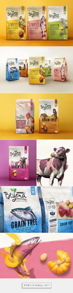 Purina 'Beyond' packaging design by CBA - https://www.packagingoftheworld.com/2018/05/purina-beyond.html