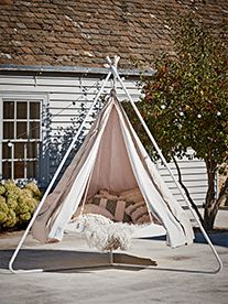 NEW Hanging Bell Tent - Outdoor Garden Furniture - Outdoor Living
