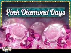 (EXPIRED) It's the halfway point in our Pink Diamond Days sweepstakes! If you haven't entered yet, now's the perfect time! You can start with 300,000 FREE chips when you tap the Pinned Link (or use code PZQGMW)