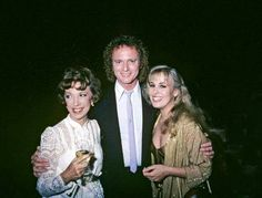 Gloria Monty, Anthony Geary, and Genie Francis of   General Hospital
