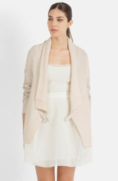 'Manches' Belted Cardigan | @Nordstrom