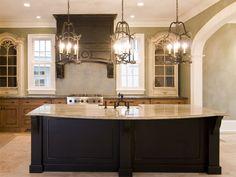 Updated dark grey kitchen....love