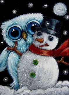 snowman art pics - Google Search