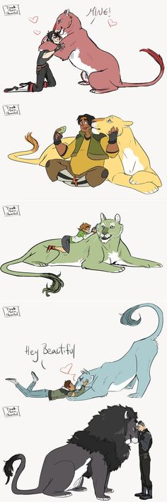 Aww paladins and their lions