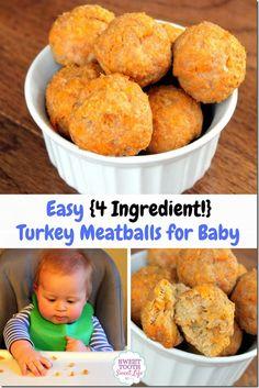 Turkey Meatballs for Baby