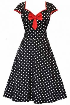Black Polka Dot by ladyvlondon.com on CurvyMarket.com
