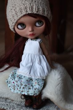 Oh Penelope, I will never let you go. (custom blythe doll)