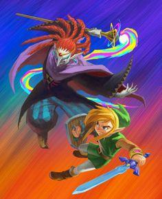 The Legend of Zelda: A Link Between Worlds Concept Art