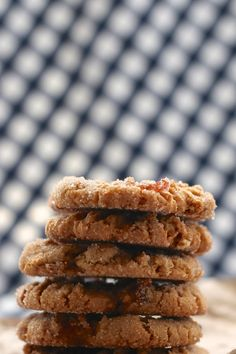Peanut Butter Bacon and Dark Chocolate Cookies | http://joythebaker.com/2015/04/peanut-butter-bacon-and-dark-chocolate-cookies/