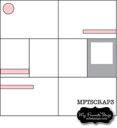 MFT Scrapbooking Sketch - Project Life