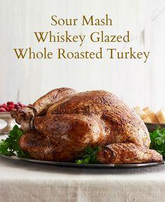 Sour Mash Whiskey Glazed Whole Roasted Turkey Recipe - JoyOfKosher.com