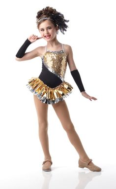 girl dance costume