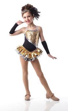 girl dance costume