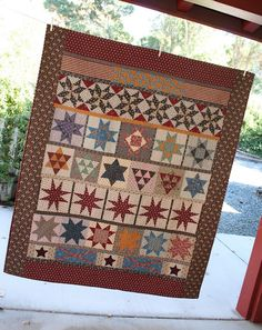 A nice row-by-row quilt