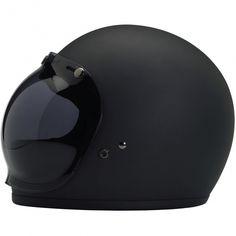 DOT certified retro full face helmet bubble shield Biltwell Gringo Helmet